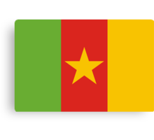Cameroon, national id Canvas Print