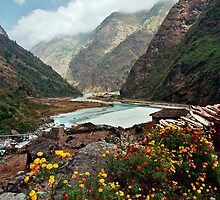 Marsyangdi Valley, Nepal by Harry Oldmeadow