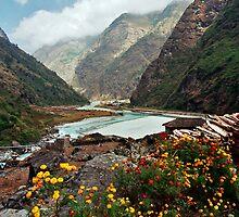 Marsyangdi Valley, Nepal by Harry Oldmeadow