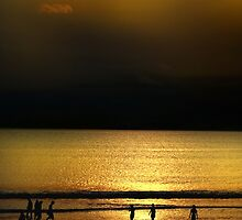 Golden Beach @ Bali by Charuhas  Images