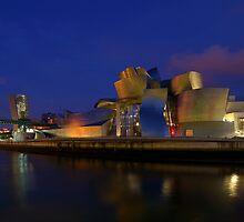 Guggenheim Bilbao by Amaya Solozabal