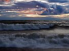 Waves on the Shore by Kathy Weaver