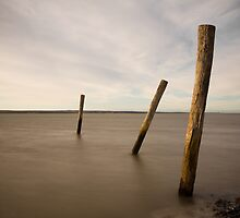 poles in time by Tony Middleton