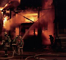 071506-4  CLEVELAND FIREFIGHTERS ON THE JOB by MICKSPIXPHOTOS