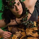 Autumn Portrait by Allegondashoot