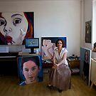 My studio by Magda Vacariu