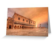 Palazzo Ducale (Doge's Palace) Greeting Card