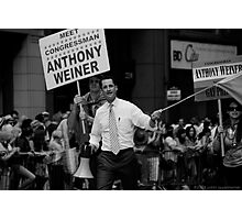 Meet Congressman Anthony Weiner, Gay Pride, June 2009 Photographic Print
