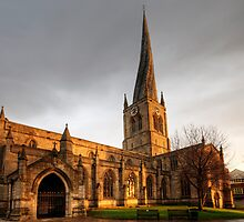 Chesterfield Crooked Spire by davidhodson502