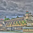 Portland Or Bridge 1 by pdsfotoart
