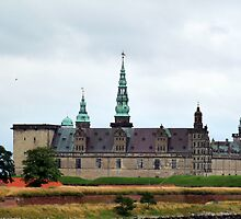 The Kronborg Castle in Helsingör by HELUA