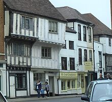 Buildings in Tewkesbury 1 by anaisnais