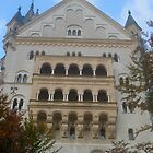 neuschwanstein castle  by Michelle  Sogan