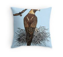Wedge Tailed eagles Throw Pillow