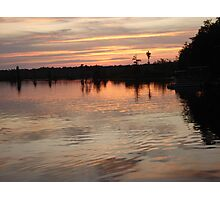 Sunset July 17, 2009 Photographic Print