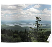 The Lakes Region of New Hampshire Poster