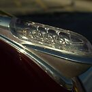 1946 Plymouth Glass Hood Ornament by TeeMack