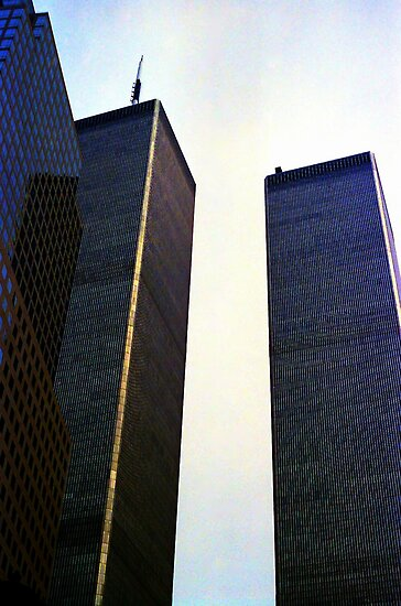 Twin Towers by Wayne Gerard Trotman