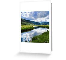 Reflection in Glen Esk Greeting Card