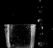 glass and water by Yuriy Netesov