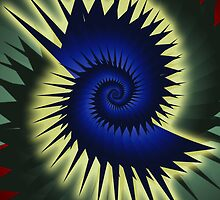 Blue Spiral by shane22