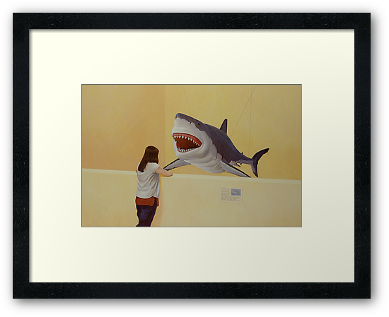 White Shark III (Girl) by Jason Moad