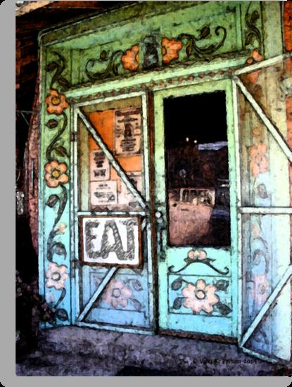 Ice Cream Parlor ~ Pinos Altos, NM by Vicki Pelham