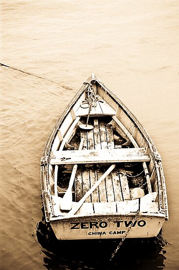 Old Row Boat  by Nancy Stafford
