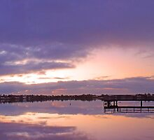 Shelley Jetty At Dusk  by EOS20