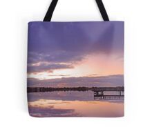 Shelley Jetty At Dusk  Tote Bag