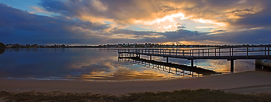 Shelley Jetty At Sunset  by EOS20