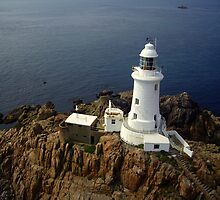 La Corbiere Lighthouse, Jersey - KAP by Kevin Lajoie