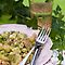 Peppery Potato and Tuna Salad With Cucumber, Peas and Mustard Dressing With Honey and Thyme by Ilva Beretta