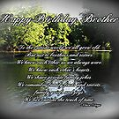 Brother Birthday by Greeting Cards by Tracy DeVore