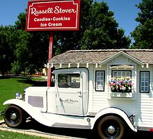 1931 Model A  Ford Russell Stover Candies Pickup Truck by TeeMack