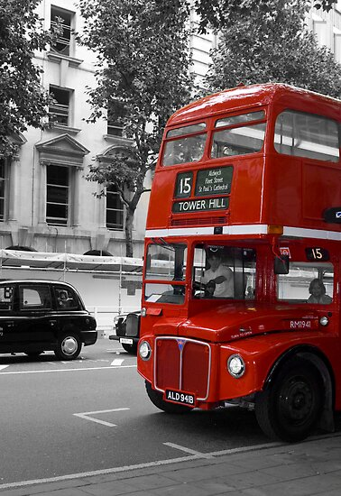 London Bus by Theresa Elvin