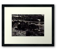Duddingston Loch from Arthur Seat Framed Print