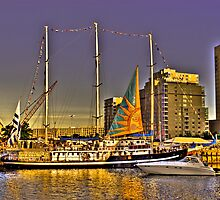 Sail  Boston 2009 - Capitan Miranda by LudaNayvelt