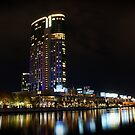 Crown Casino at Night by Ryan Lester