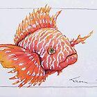 red lionfish #3 by vinnythom