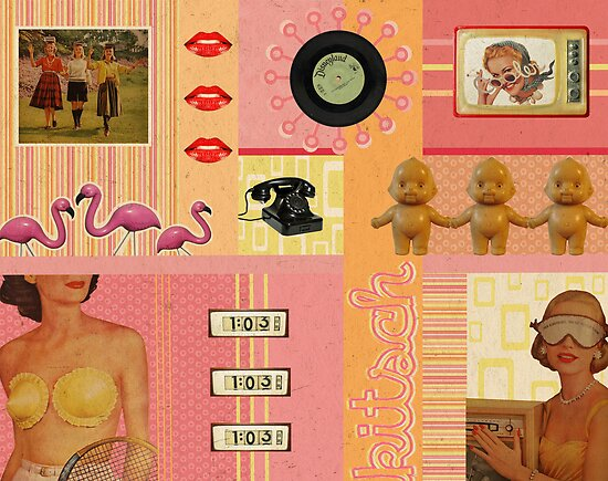 Kitschy Collage by Pip Gerard