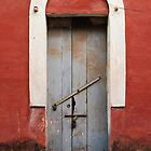 Red Arched Doorway by Chinua Ford