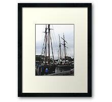 Pacific Schooners Framed Print