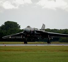 Vulcan XH558 by imageworld