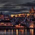 Prague Castle and Hradcany by Stevacek