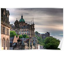 The view from the Scotsman Poster