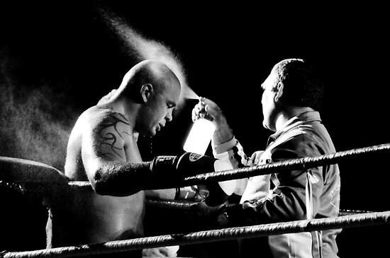 Boxing moment at siam park, Tenerife by Raico Rosenberg