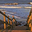 Steps to the Beach by Panalot