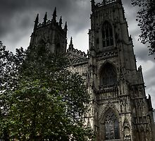York Minster 2 by Arthur Indrikovs