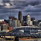 Cincinnati in HDR by Daniel Justes